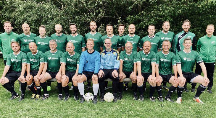 Mannschaftsfoto der Alten Herren